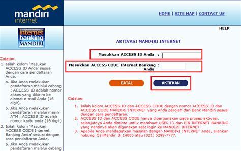 pembuatan rekening baru mandiri cara daftar mandiri internet banking bank mandiri ngeeneet