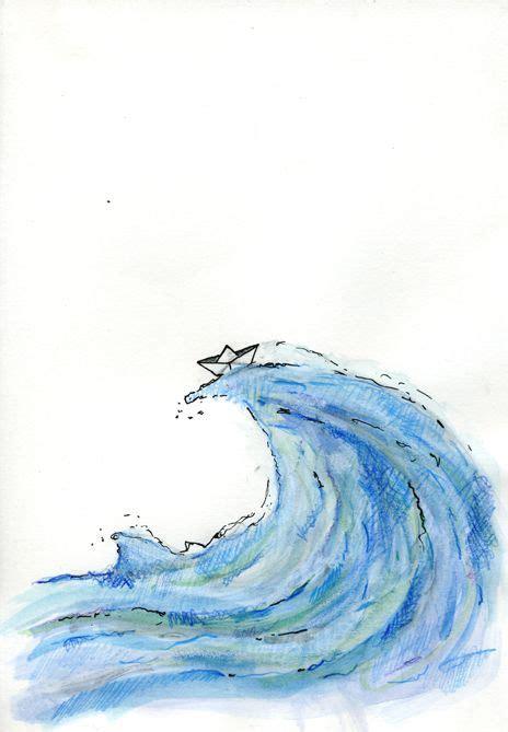dibujo barco con olas dibujo barco de papel en el mar buscar con google