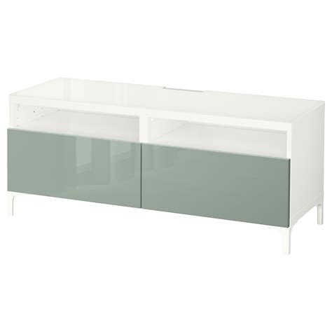 Bench Drawers by Best 197 Tv Bench With Drawers White Selsviken High Gloss