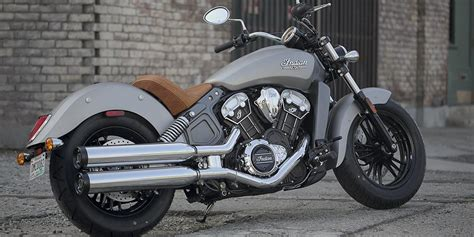 2017 Indian Scout Motorcycle   Thunder Black Smoke