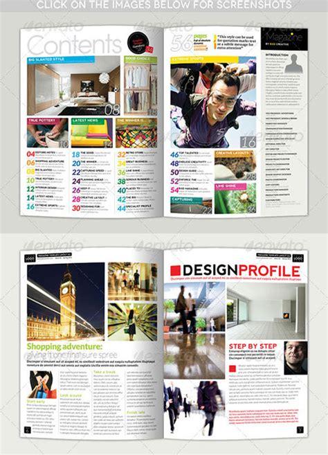indesign layout ne demek 25 high quality psd magazine templates