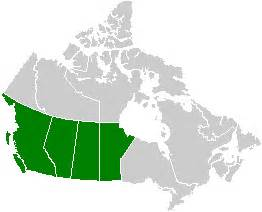 file canada western provinces map png wikimedia commons