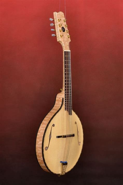 Handmade Musical Instrument - crafted custom handmade mandolin family musical