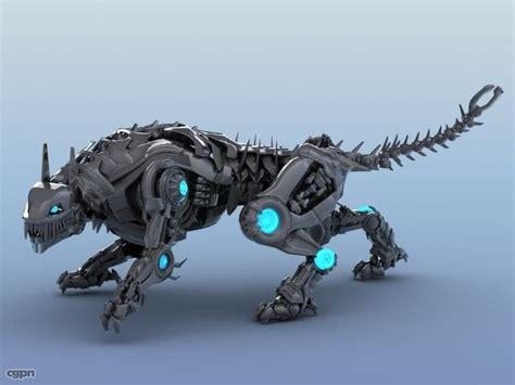 Umakuka 3d Robot Tiger robot tiger 3d model cgstudio project terra