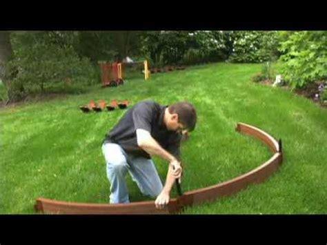 build  circle garden youtube