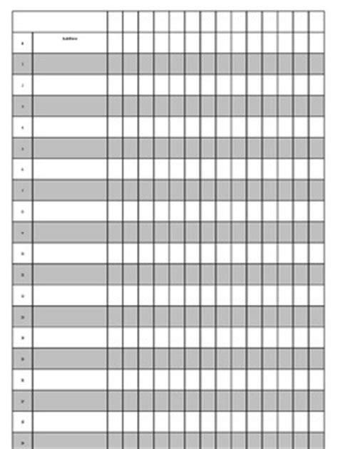 Free Editable Grade Sheet By Ladyjane Teachers Pay Teachers Grade Sheet Template