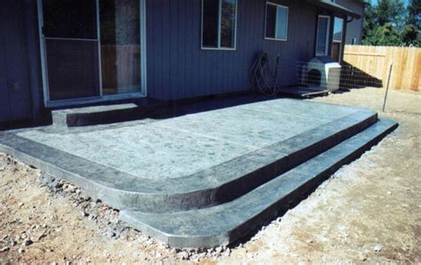 Backyard Cement Patio Ideas Concrete Patio Ideas For Small Backyards Best Concrete Patio Ideas Landscaping Pinterest