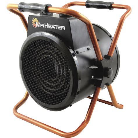 best 120 volt electric heaters mr heater portable forced air electric heater 5100 btu