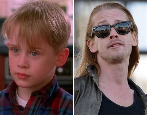 home alone then and now child then now