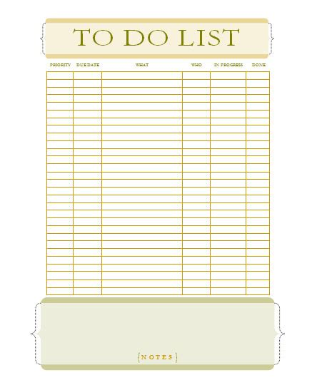 to do lists templates for word microsoft word to do list template