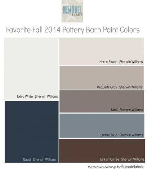 favorites from the fall pottery barn paint collection remodelaholic bloglovin