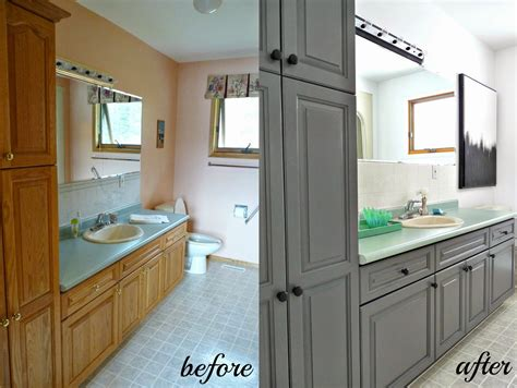 cabinet refinishing  latex paint  stain  rust
