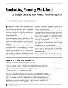 Annual fundraising plan template http www docstoc com docs 22565885