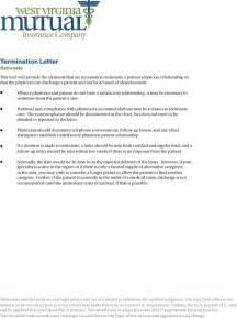 Patient Termination Letter Exle Termination Letter Due To Non Compliance Patient For Free Formxls