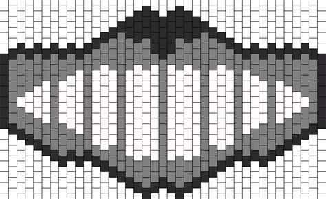 black and white kandi mask pattern kandi patterns for kandi cuffs newest pony bead patterns