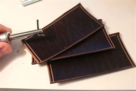 How To Make A Handmade Wallet - 03 leather wallet handmade