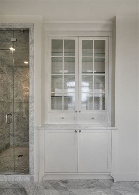 bathroom closets cabinets best 20 bathroom built ins ideas on