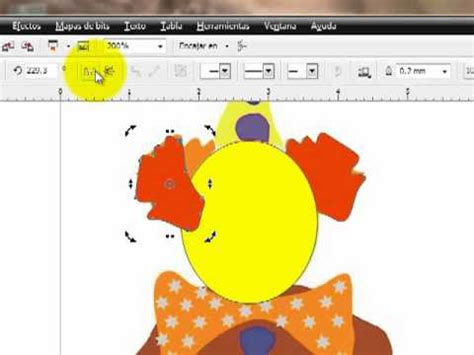 tutorial corel draw x5 en español tutorial de imagen vectorial en corel draw x5 youtube