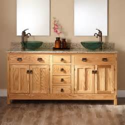 72 quot mission hardwood vessel sink vanity bathroom