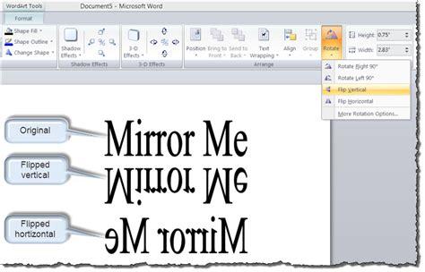 4 easy ways to print reverse text