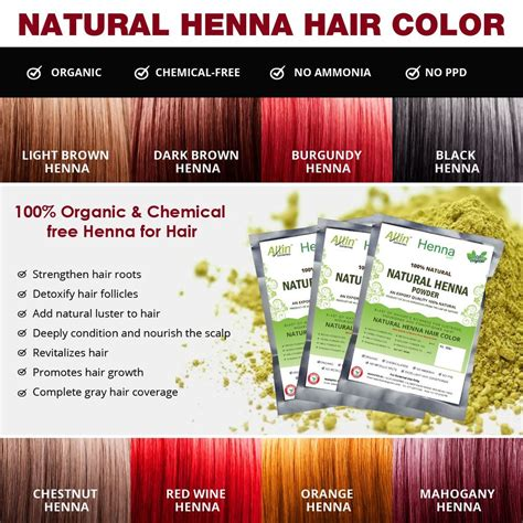 7 Chemical Free Ways To Dye Your Hair by Allin Exporters Henna Hair Color 100 Organic