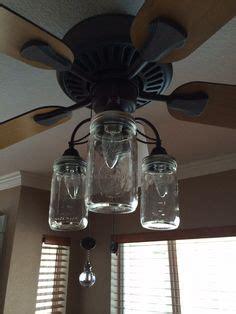 jar ceiling fan jar ceiling fan light kit of vintage pint jars