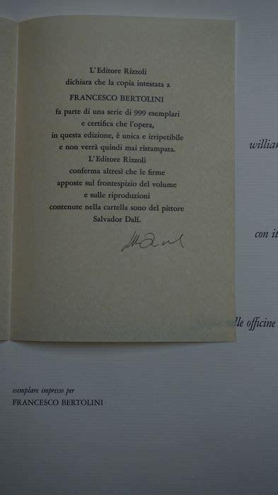 William Shakespeare 3774 by Salvador Dal 237 Romeo E Giulietta William Shakespeare