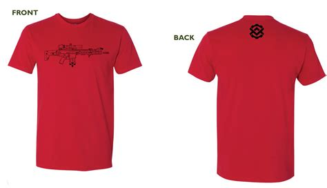 Tshirt Logo Merah t shirt front and back www pixshark images
