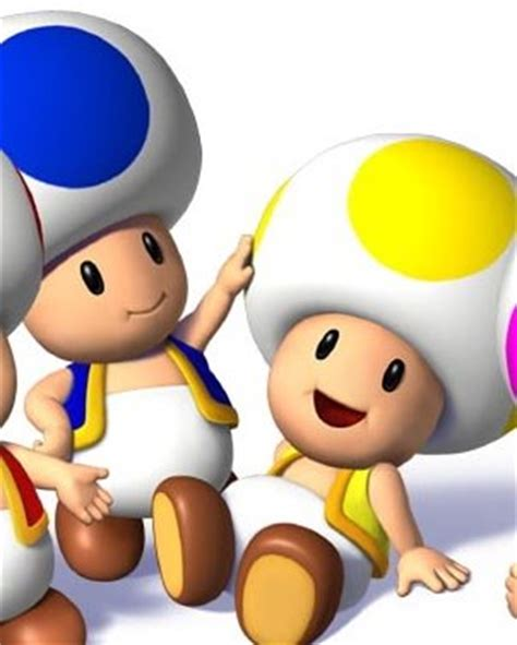 blue yellow toad from mario yellow toad new mario bros wii wiki