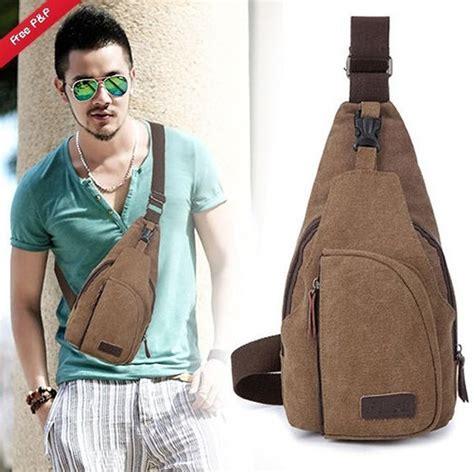 Tas Selempang Sling Bag Kecil Pria Wanit Kode Tr8735 2 jual tas selempang pria cowok kanvas ukuran kecil polisi army militer sling bag di lapak emil