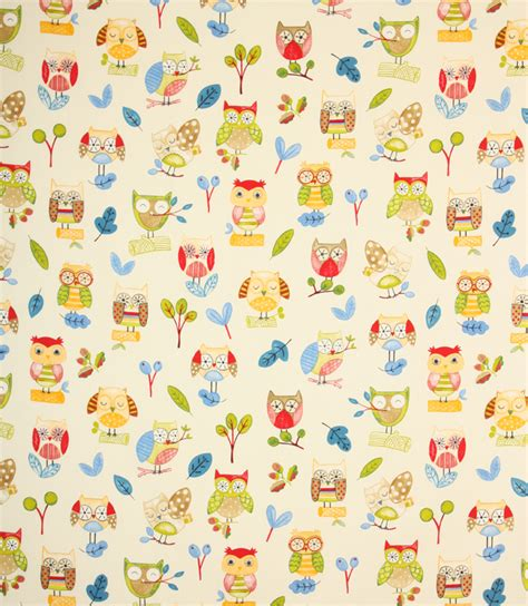 owl pattern roller blind ollie owl fabric paintbox just fabrics
