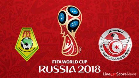 guinea vs tunisia preview and prediction live world