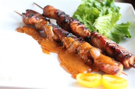 chicken satay recipe dishmaps