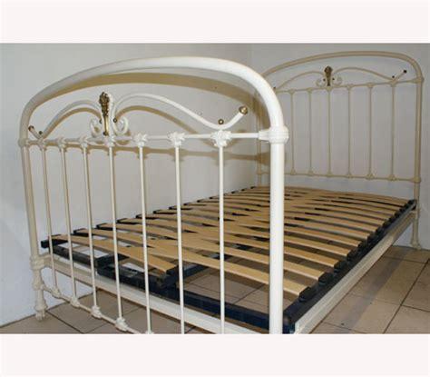 Iron Bed Base Adjustable Slatted Bed Base 4 Antique Beds The