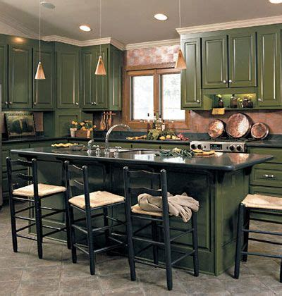 dark green painted kitchen cabinets 69 best gorgeous green kitchens images on home