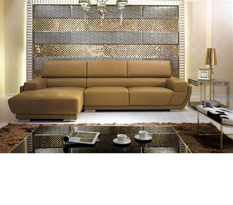 italian leather sectionals contemporary dreamfurniture com k8300 modern camel italian leather