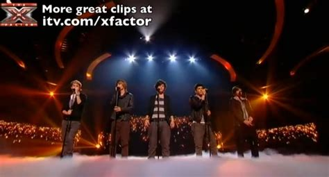 song x factor 1 direction second song x factor 8th live show