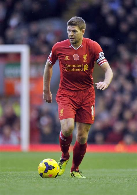 the official steven gerrard 1910199591 3465 best soccer images on futbol soccer and football