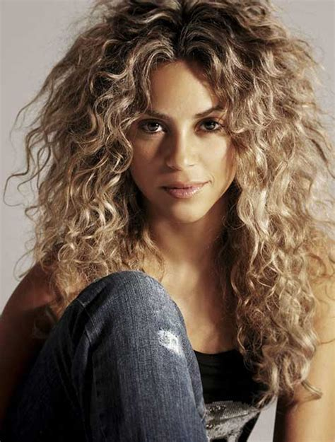 Shakira Hairstyle by 20 Best Hairstyles For Curly Hair Hairstyles