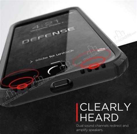 X Doria Iphone X Defense Gray x doria defense gear iphone 7 8 ultra koruma space gray kılıf