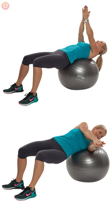 ball lose  belly core workout  healthy