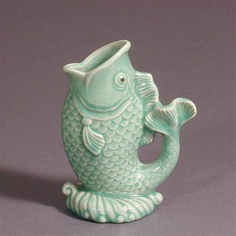 Vase Fish by Green Fish Vase Vases Sale