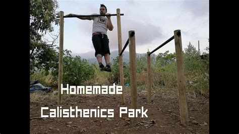 diy homemade calisthenics park