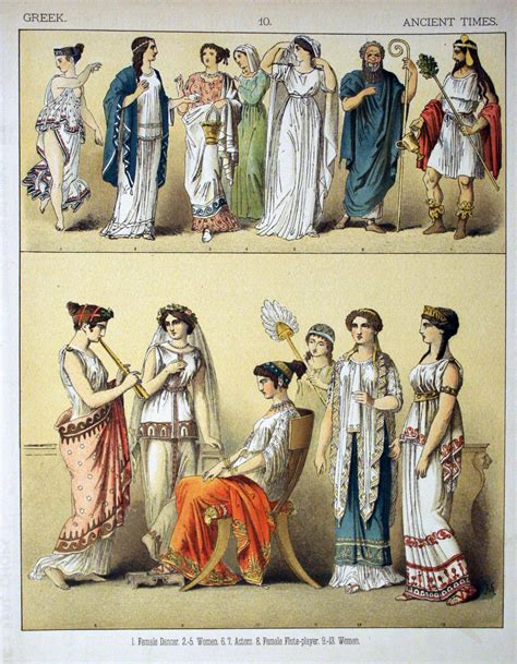 ancient greek costume history pictures showing how to recreate a file ancient times greek 010 costumes of all nations