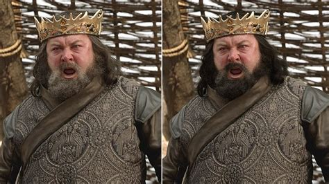 game of thrones king actor season 1 how the cast of game of thrones should really look