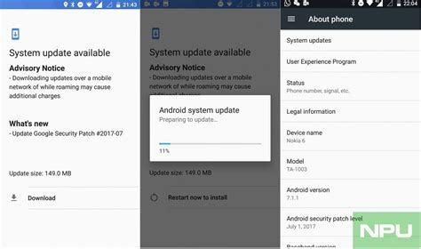 android update hmd s nokia 6 is already getting the july security update