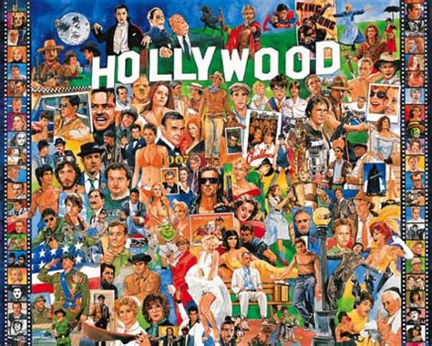 film jigsaw puzzles hollywood poster white mountain puzzles