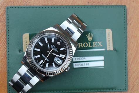 Jam Tangan Rolex Datejust Ii 116334 Black Mirror Copy 11 jam tangan for sale rolex datejust ii ref 116334 sold