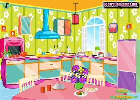 kitchen design games играть в дизайн кухня онлайн флеш игру бесплатно и без