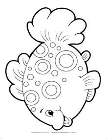 fish coloring template fish templates az coloring pages